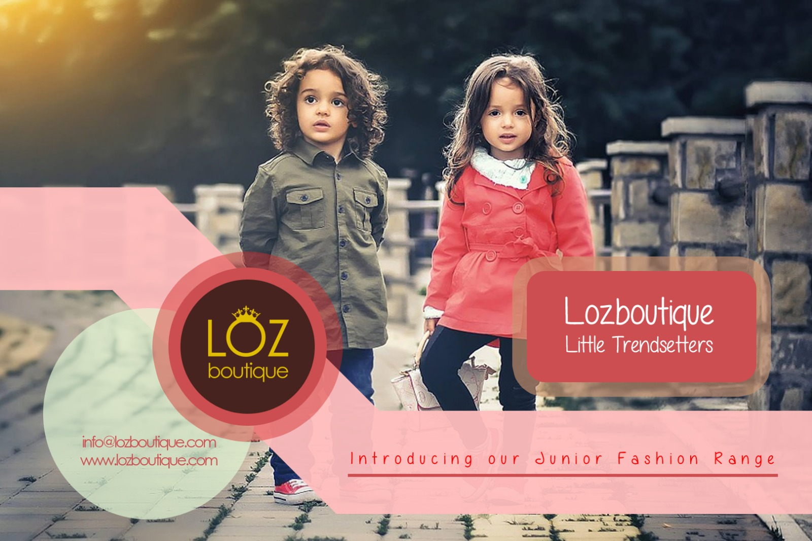 Lozboutique Little Trendsetters -Junior collection